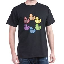 duckie-rainbow-row_tr2.png T-Shirt