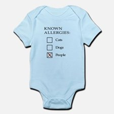 Known Allergies - cats, dogs, people Body Suit