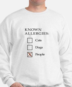Known Allergies - cats, dogs, people Jumper