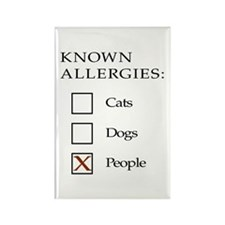 Known Allergies - cats, dogs, people Rectangle Mag