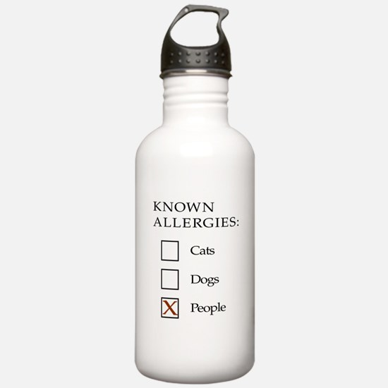 Known Allergies - cats, dogs, people Sports Water