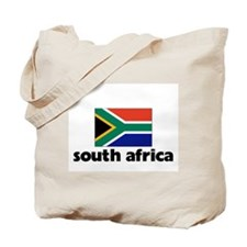 I HEART SOUTH AFRICA FLAG Tote Bag