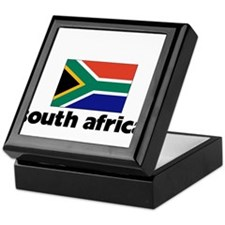 I HEART SOUTH AFRICA FLAG Keepsake Box