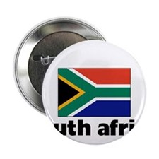 "I HEART SOUTH AFRICA FLAG 2.25"" Button"