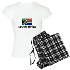 I HEART SOUTH AFRICA FLAG Pajamas