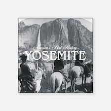 "Yosemite Americasbesthistor Square Sticker 3"" x 3"""
