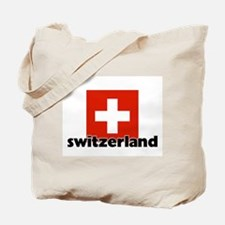 I HEART SWITZERLAND FLAG Tote Bag