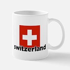 I HEART SWITZERLAND FLAG Mug