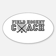 Field Hockey Coach Decal