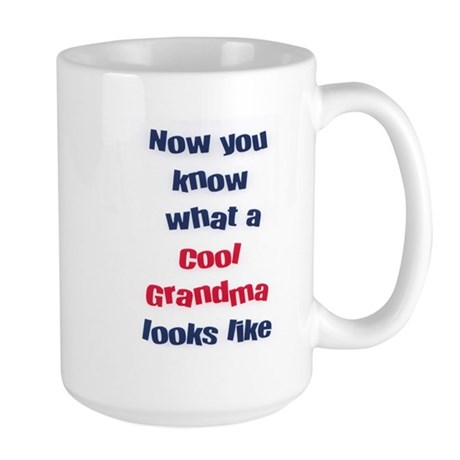 Cool Grandma Large Mug