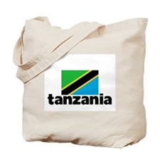I HEART TANZANIA FLAG Tote Bag