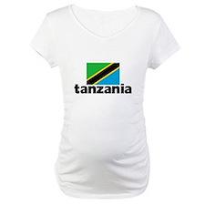 I HEART TANZANIA FLAG Shirt