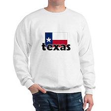 I HEART TEXAS FLAG Sweatshirt
