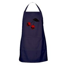 Skull Cherries Apron (dark)