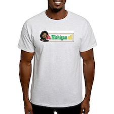 Jamichiganoilbelldesign T-Shirt