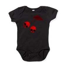 Skull Cherries Baby Bodysuit