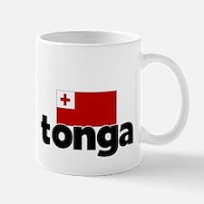 I HEART TONGA FLAG Mug