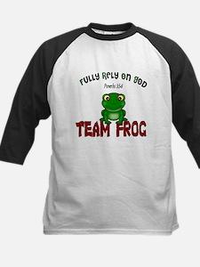 team frog Baseball Jersey