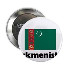 "I HEART TURKMENISTAN FLAG 2.25"" Button"
