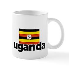 I HEART UGANDA FLAG Mug