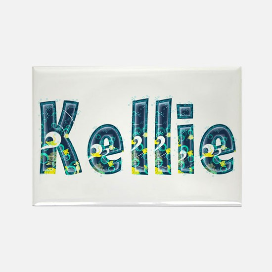 Kellie Under Sea Rectangle Magnet