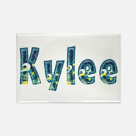 Kylee Under Sea Rectangle Magnet