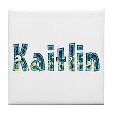 Kaitlin Under Sea Tile Coaster