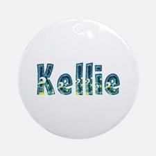 Kellie Under Sea Round Ornament