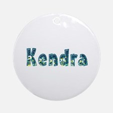 Kendra Under Sea Round Ornament
