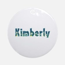Kimberly Under Sea Round Ornament
