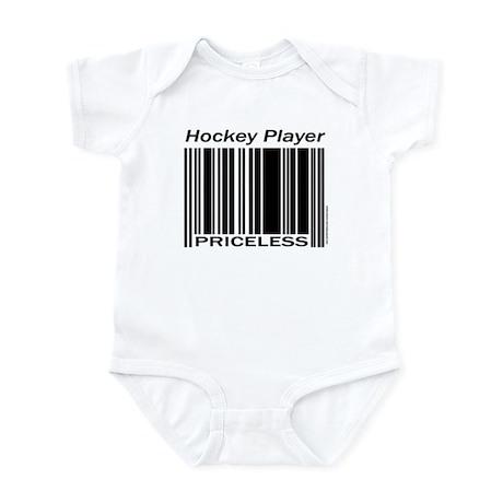 Priceless Hockey Player Infant Bodysuit