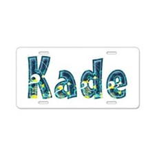 Kade Under Sea Aluminum License Plate