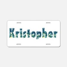 Kristopher Under Sea Aluminum License Plate