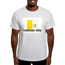 I HEART VATICAN CITY FLAG T-Shirt