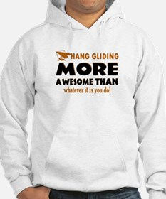 Awesome Hang gliding designs Hoodie