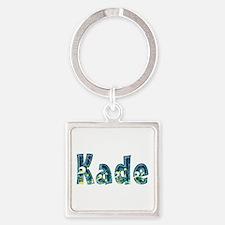 Kade Under Sea Square Keychain
