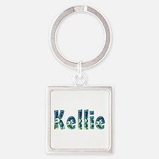 Kellie Under Sea Square Keychain