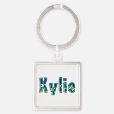 Kylie Under Sea Square Keychain