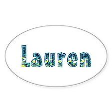 Lauren Under Sea Oval Decal