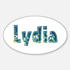 Lydia Under Sea Oval Decal