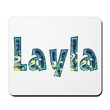 Layla Under Sea Mousepad
