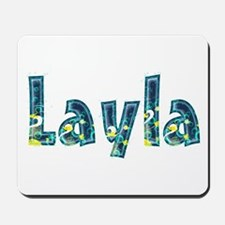 Layla Under Sea Mousepad