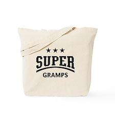 Super Gramps (Black) Tote Bag