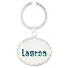 Lauren Under Sea Oval Keychain