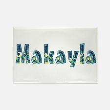 Makayla Under Sea Rectangle Magnet