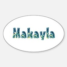 Makayla Under Sea Oval Decal