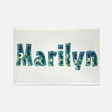 Marilyn Under Sea Rectangle Magnet
