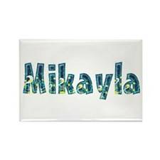 Mikayla Under Sea Rectangle Magnet