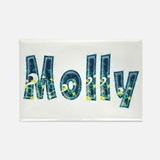Molly Under Sea Rectangle Magnet