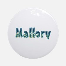 Mallory Under Sea Round Ornament